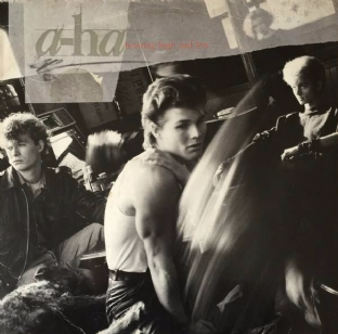 A-Ha ‎- Hunting High And Low (LP) (VG-/G-)